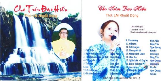 CD Thơ Ca - Cho Tròn Đạo Hiếu